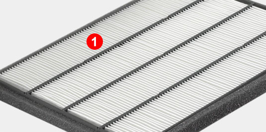 Exceptionnel Cabin Air Filter
